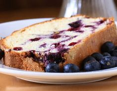 Bananaberry Bread (low calorie)  3 medium ripe bananas  ½ teaspoon baking soda  3 tablespoons tub margarine  ¼ cup mashed ripe avocado  ¾ cup sugar  3 large eggs  ½ cup whole-wheat flour  1 ½ cups all-purpose flour  1 teaspoon salt  1 teaspoon baking powder  3 tablespoons cold water  1 teaspoon vanilla extract  ½ cup frozen blueberries
