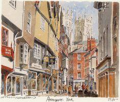 York - Petergate - Portraits of Britain
