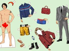 Say Bonjour to This Justin Trudeau Paper Doll -- The Cut