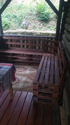nova rohova lavice na verande Outdoor Furniture, Outdoor Decor, Nova, Bench, Home Decor, Decoration Home, Room Decor, Home Interior Design, Desk