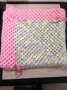 Granny square baby blanket!