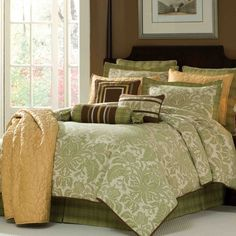Hampton Hill Charleston Park Twin Comforter Set $197