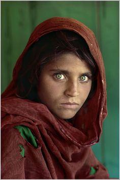 Chica Afgana, Steve McCurry (1984)