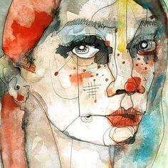 """Mi piace"": 683, commenti: 5 - nachonuez.com (@pintamonasygarabatos) su Instagram: ""Welcome to my website: http://nachonuez.com  #modernart #abstract #painting #drawing #popart…"""