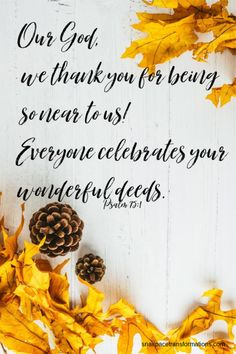 Share The Spirit of Thanksgiving With These 15 Bible Verses