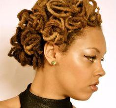 Loose Knots   Black Women Natural Hairstyles