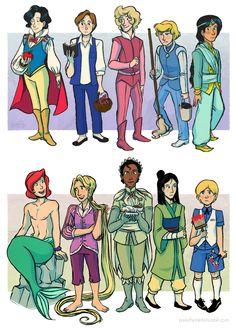 Disney Princess Photo: disney genderbend