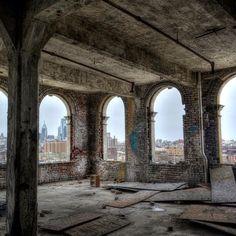 Windows to the Philly skyline