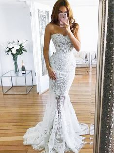 A-line Off-the-Shoulder White Lace Plus Size Wedding Dresses,Cheap Wed – mybestbridal Mermaid Lace Wedding Dress Long Sleeves, Bridal Gown ,Dresses For Brides Western Wedding Dresses, Dream Wedding Dresses, Bridal Dresses, Boho Wedding, Modest Wedding, Backless Wedding, Elegant Wedding, Ivory Wedding, Wedding Pins