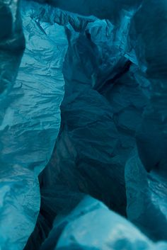 plastic bag landscapes by Vilde Rolfsen.