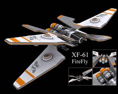 FireFly Fighter Concept by MechaLord