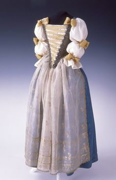 "fashionsfromhistory: ""Possible Court Dress Late 18th Century Hungary Museum of Applied Arts, Budapest """