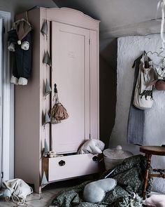 Pink Bedroom Decor, Pink Bedrooms, Girls Bedroom, Painted Armoire, Teenage Room, Pretty Bedroom, Kids Decor, Girl Room, Room Inspiration