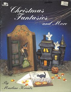 Christmas Fantasies and More by Marlene Kreutz Tole Painting Book FI0213 by DovesClosetInc on Etsy