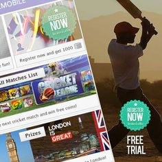 The best cricket matches and the best prizes http://www.khelmobile.com