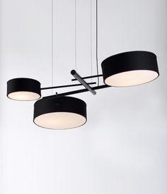 :: LIGHTING :: love the Roll & Hill - love the Excel Chandelier #lighting