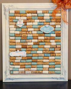 Diy cork memo board pinterest cork wine and board diy wine cork projects solutioingenieria Image collections