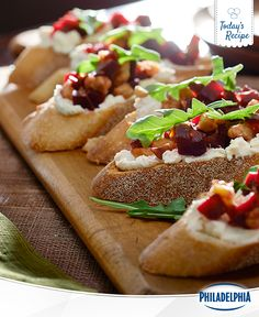 No dinner party is complete without this delightful Roasted Beet, Feta, and Walnut-Topped Crostini recipe. Packed with flavour and covered with ingredients you love, this creamy, tasty app is perfect for gatherings big and small.