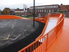 playscapes: Beetsplein Playground, NL Architects and DS Landschaparchitecten, Dordrecht Netherlands 2003