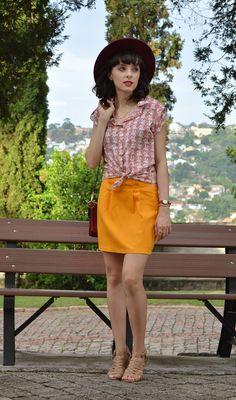 Look Colorido e Retrô - Blog Ela Inspira - http://www.elainspira.com.br/look-sunshine/
