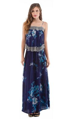 Tiered Maxi | Cynthia Vincent