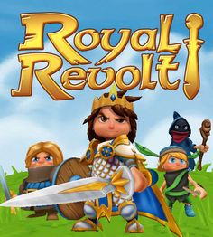 Assemble your troops and take back what is yours.   http://en.softmonk.com/ios/royal-revolt/