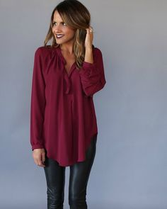 A VICI staple is back, the essential work to weekend Damsel Blouse! A beautiful drape with a longer cut creating a sensual and romantic fit. This is the original damsel cut with no front snap closure.