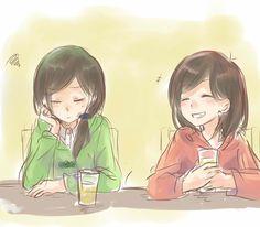 「にょた松さんログ【自分絵含】」/「梨月みの」の漫画 [pixiv]