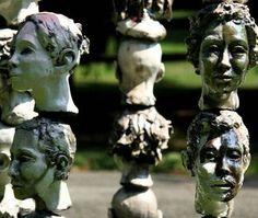 Sculpture exhibit artist Bob Clyatt