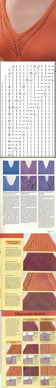 Crochet Patterns Pullover Detail that makes the difference Knitting Stiches, Knitting Charts, Lace Knitting, Knitting Patterns Free, Crochet Stitches, Knit Crochet, Lace Patterns, Stitch Patterns, Crochet Patterns