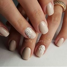 Manicure. Nail Design. Art Simple Nail | VK https://www.facebook.com/shorthaircutstyles/posts/1759167507707022