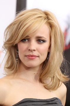 Rachel Mcadams - my hairstyle from now on. Haircuts For Fine Hair, Cool Haircuts, My Hairstyle, Pretty Hairstyles, Layered Hairstyles, Hair Day, New Hair, Fall Hair Cuts, Medium Hair Styles
