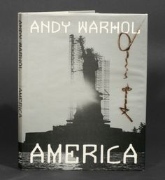 Andy Warhol: America, first edition, signed by Warhol