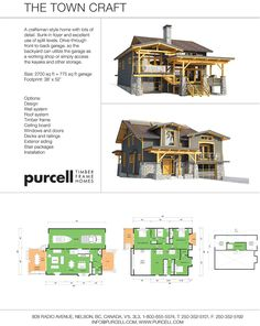 The Town Craft - A Craftsman-style home