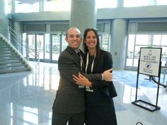 Fellow Social Media Educators in the house! Carisa and John at Fresh Summit #PMA
