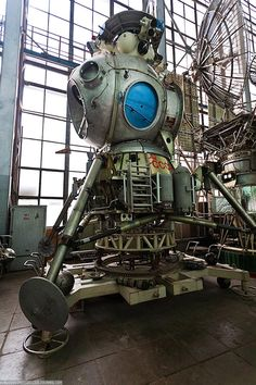 Russia's lunar craft lander from their failed space race to the moon