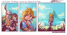 This was my impression after seeing The Legend of Zelda: Breath of the Wild. I am really hyped for it surprisingly!