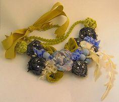Fabric necklace class sample  Ulla Norup Milbrath