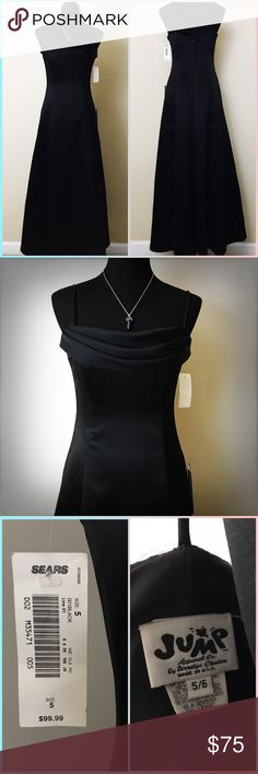 Formal Black Dress NWT NWT, pretty but simple dress. Jump Dresses Prom