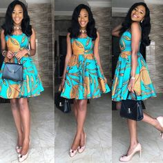 If yes, try some of the latest Ankara styles we have lined up for you today. They are sexy, sassy and look absolutely gorgeous. African Print Fashion, Africa Fashion, African Fashion Dresses, African Prints, African Outfits, Ankara Fashion, African Wear, African Dress, African Style