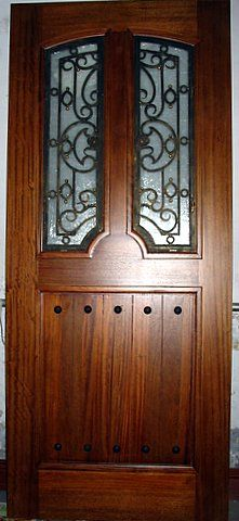 Doors by Design offers a wide selection of custom wood and iron doors. We  work with each customer to create the exact door for their dreams.