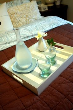 17September Featured Space: Bedroom - Tray for Two