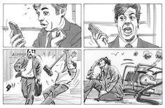 Storyboards & renderings - Andre Schwartz Illustration