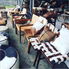 Cow hide chairs & ottomans Cowhide Chair, Cow Hide, Chair And Ottoman, Ottomans, Bali, Chairs, Couch, Collection, Home Decor