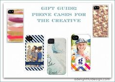 Gift Guide: phone cases for creatives
