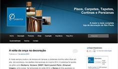 Novo Layout nas redes sociais Damatex. www.damatex.com.br/blog #blog