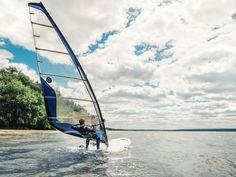 Go windsurfing on Lake Huron Cavendish Beach, Cabot Trail, Lake Huron, Prince Edward Island, Beaches In The World, Windsurfing, Sandy Beaches, Beautiful Beaches, Vacation Spots
