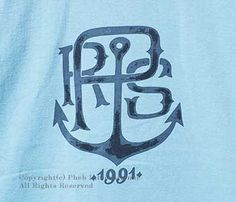 フェローズ/PHERROW'S(PHERROWS) ''アンカー''Tシャツ(15S-PT14)