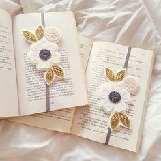 Flower Bookmark Booklover Gift Reader Gift Unique