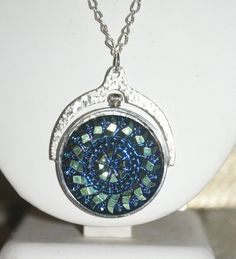 Steampunk style Czech Glass Necklace by LavishIndulgences on Etsy, $45.00
